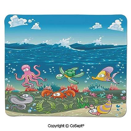 Amazon Com Gaming Mouse Pad Family Of Marine Animals