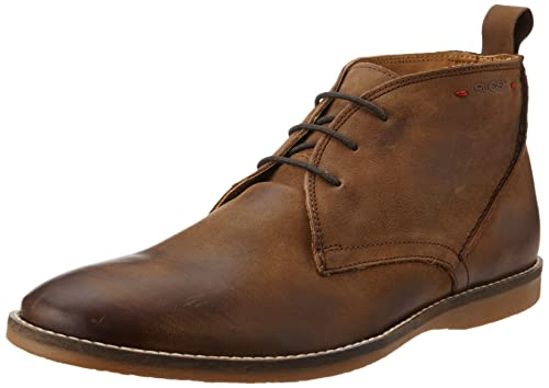 8ce5b6a46a99 Ruosh Men s Brown Leather Boots - 9 UK India (43 EU)  Buy Online at ...
