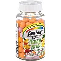 Centrum Multivitamin/Multimineral Supplement Flavor Burst Tropical Fruit , 120 CT (Pack of 3)