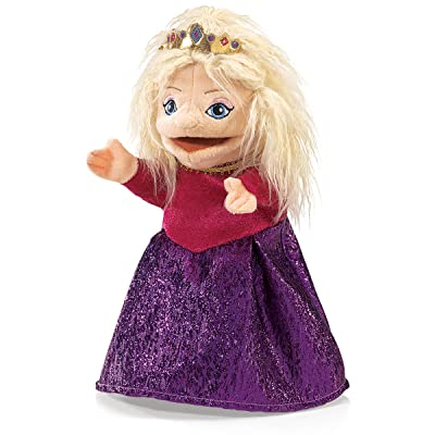 Folkmanis Royal Princess Character Hand Puppet: Toys & Games