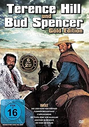 Terence Hill Bud Spencer Gold Edition 2 Dvds Amazonde Terence