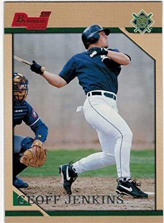 15 Cards 1996 Topps Milwaukee Brewers Team Set with Geoff Jenkins RC /& Greg Vaughn