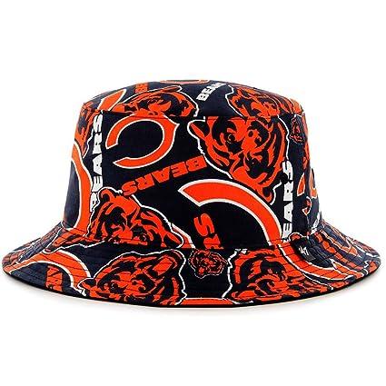 47 Chicago Bears Bravado Printed All Over Bucket Hat - NFL Gilligan  Fishing Cap 5f5ac5ad7