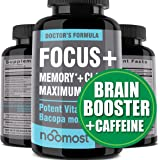 Brain Focus Supplement for Memory Support & Brain Booster - Nootropics Energy Pills & Brain Supplement As Caffeine Pills…