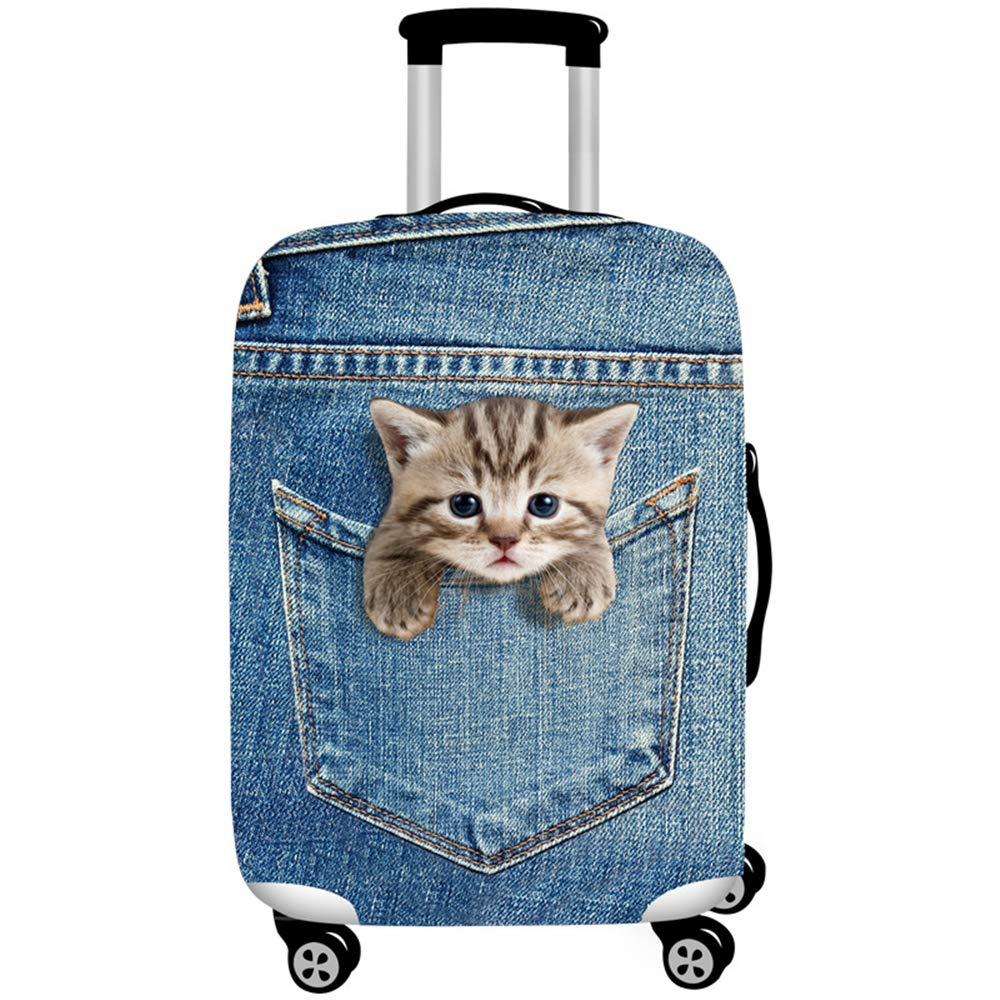 3D Print Luggage Cover Travel Suitcase Protector Tourister Trolley Case Cover for 18-32 Inch Luggage