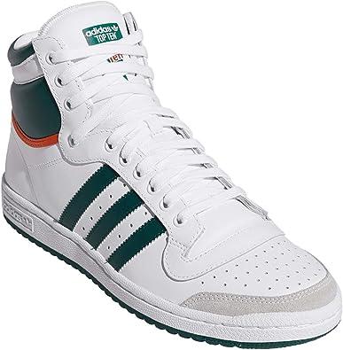 Adidas Top Ten Hi - Zapatillas Deportivas, Color Blanco, Talla 42 2/3 EU: Amazon.es: Zapatos y complementos