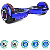 """NHT 6.5"""" Hoverboard Electric Self Balancing Scooter Sidelights - UL2272 Certified Chrome Color"""