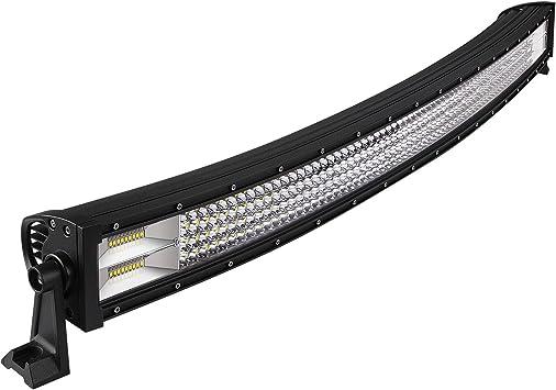 WEISIJI/® LED Light Bar,42Inch Tri-Row 240W Super Bright Led Offroad Work Light Bar Driving Lights Spot Flood Combo Beam for 4WD Truck ATV UTV/…