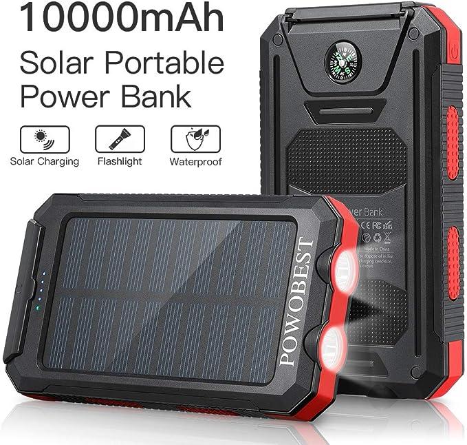 POWOBEST Outdoor Solar Bluetooth Speaker