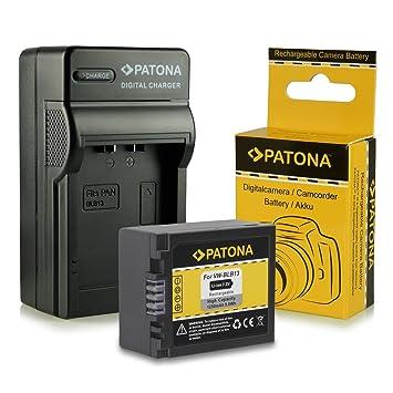 Cargador + Batería DMW-BLB13 / DMW-BLB13E para Panasonic Lumix DMC-G1 | DMC-G2 | DMC-G10 | DMC-GF1 | DMC-GH1