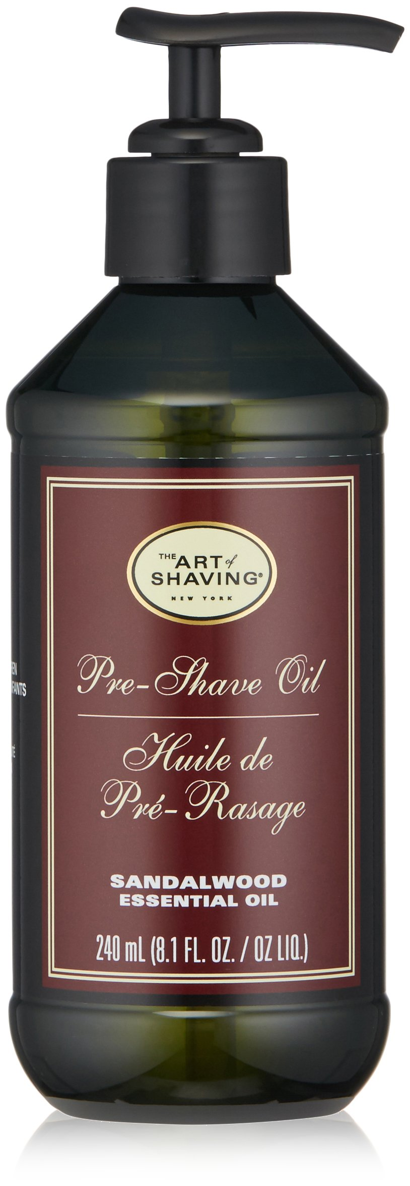 The Art of Shaving Pre Shave Oil, Sandalwood, 8 Ounce by The Art of Shaving