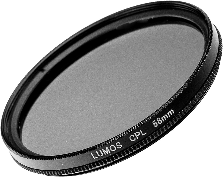 AF-S NIKKOR 50mm 1.4 1.8 LUMOS Filterset CREATIVE TOOLs 58mm Zubeh/ör Set mit MC UV Filter Polfilter CPL Objektivdeckel Objektivdeckelhalter passend zu Ihrem Nikon Objektiv mit 58mm Filtergewinde z.B