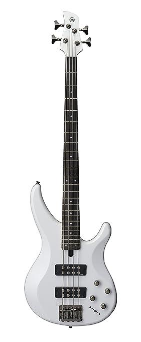 Yamaha TRBX304 Electric guitar Sólido 4strings Blanco: Amazon.es: Electrónica