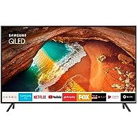 Smart TV QLED 55'' Samsung QN55Q60 Ultra HD 4K com conversor Digital 4 HDMI 2 USB Wi-Fi Integrado
