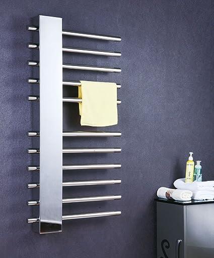 SYDLJ Toalla de baño de acero inoxidable 304 barringrack secado toallero toallero con calefacción toallero eléctrico