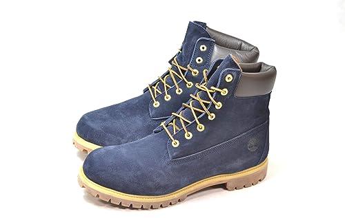 993193e67bb80 Timberland Men's 6 Inch Premium Boot (A1GXR) (Blue) (UK 9 / EU 43.5):  Amazon.co.uk: Shoes & Bags
