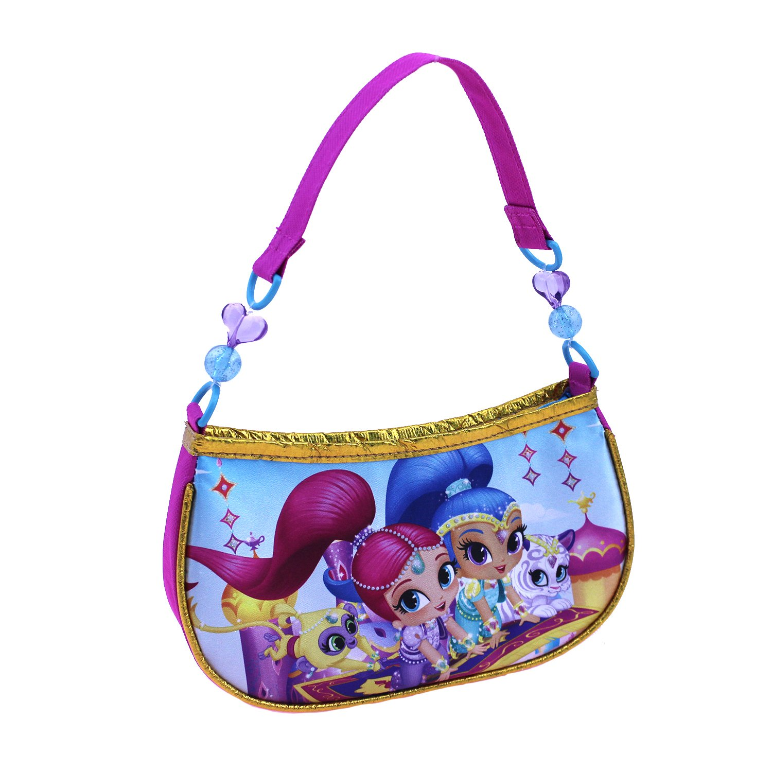 39634e0724674 Online Cheap wholesale Nickelodeon Girls Shimmer and Shine Beaded Handbag  Shoulder Bag, Pink, One Size Suppliers