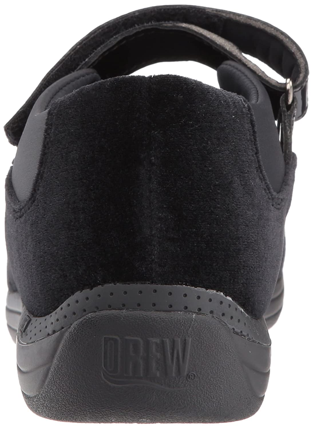 Drew Shoe Women's US|Black Rose Mary Jane B073ZNLTR2 8.5 XW US|Black Women's Velvet Patent d2061c