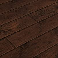 Lamton Laminate - 12mm Wide Board Collection-Hickory Ebony / 12 / AC3 (21.32sq. ft. per Box)