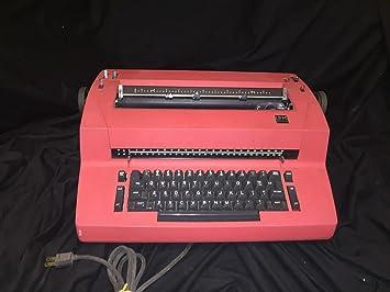 IBM corrección Selectric II eléctrica máquina de escribir: Amazon.es: Electrónica