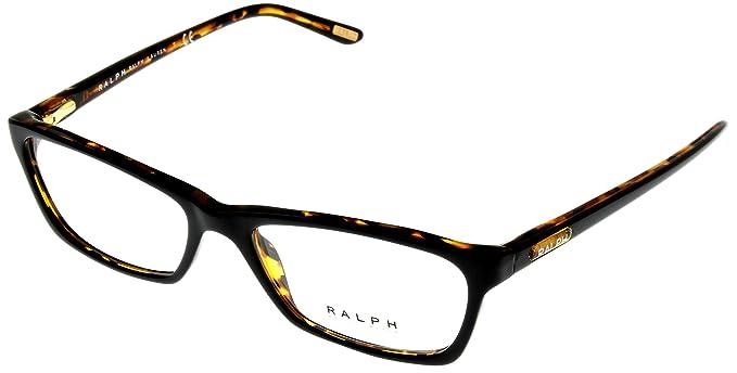 64906078131 Image Unavailable. Image not available for. Color  Ralph by Ralph Lauren  Unisex Eyeglasses Designer Havana Rectangular ...