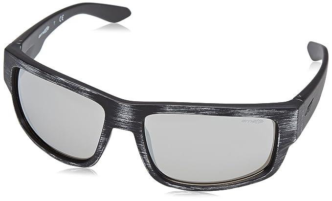 a42e175e46 Image Unavailable. Image not available for. Color  Arnette Men s Grifter  Non-Polarized Iridium Rectangular Sunglasses
