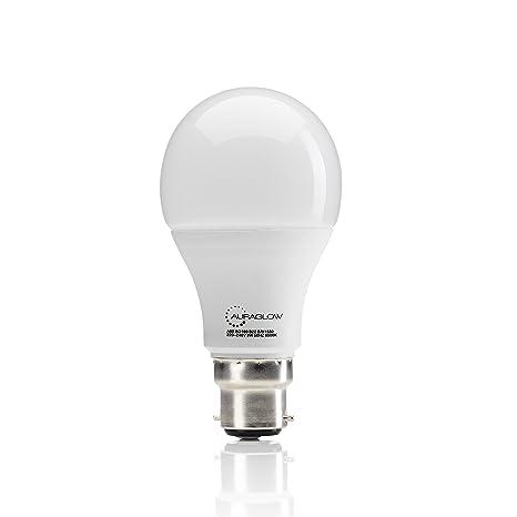 Auraglow - Bombilla LED regulable sin regulador de intensidad de 14 W, 100 W,