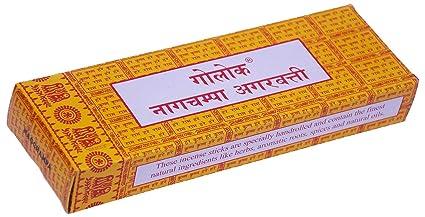 Goloka Nagchampa Incense Sticks, 250g (Brown)