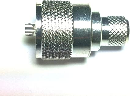 2 PL-259 PL259 SILVER PLATED TEFLON WITH SILVER TIP UHF COAX CONNECTOR NEW