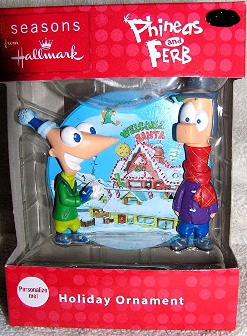 Phineas And Ferb 2020 Christmas Ornament Amazon.com: 2011 Hallmark Disney Phineas and Ferb Christmas