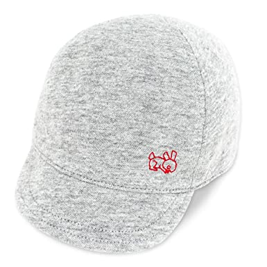 04b19048ac53d Keepersheep Baby Reversible Baseball Cap Infant Sun Hat, Shell Embroidery  Cotton