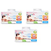 Munchkin Arm & Hammer Disposable Changing Pad - 10 Pack (Pack of 3)