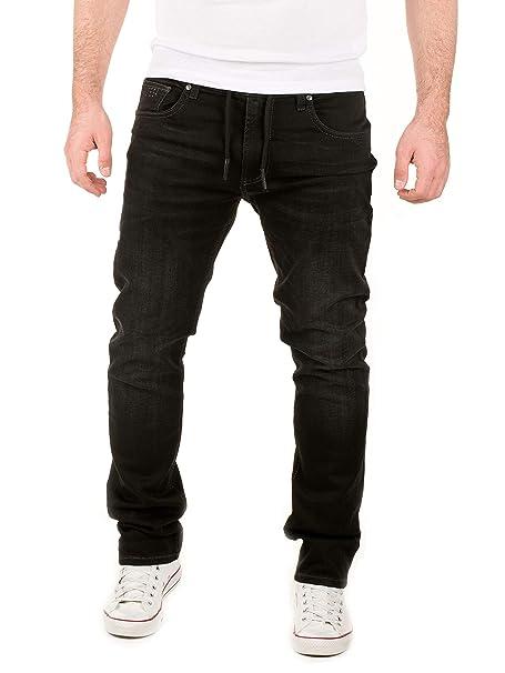 WOTEGA Hombre Jeans Tramo Jogg Noah - Sweatpants in Jeans-Look