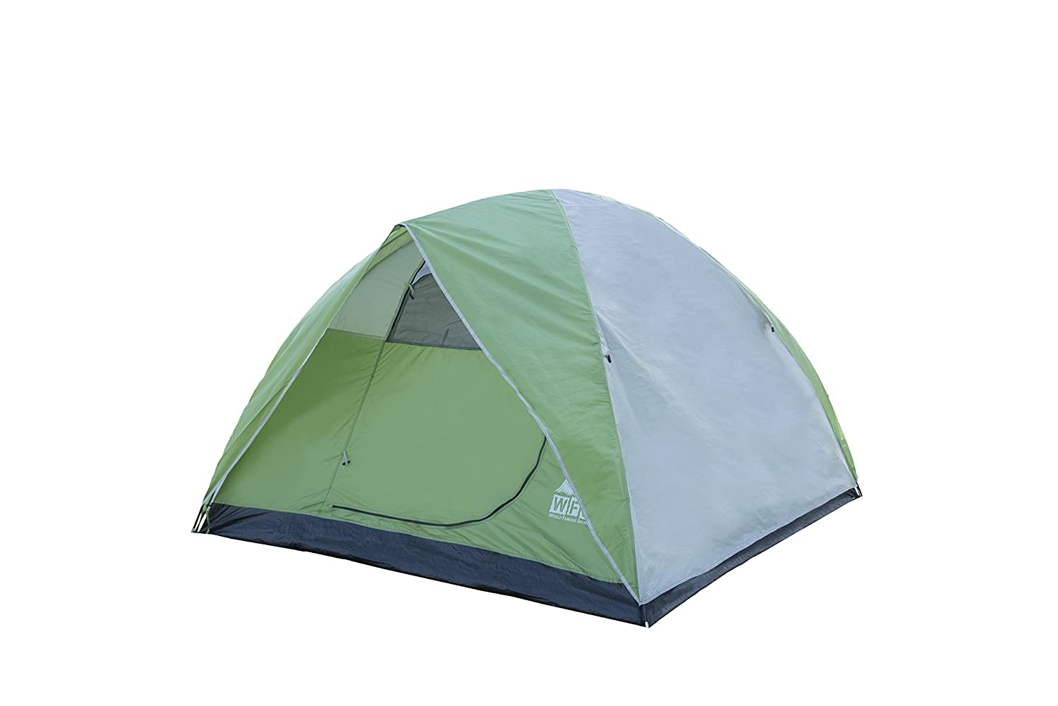 7dae5ba6cb Amazon.com : World Famous Sports 3 Person Camping Tent, Lime Green : Family  Tents : Sports & Outdoors