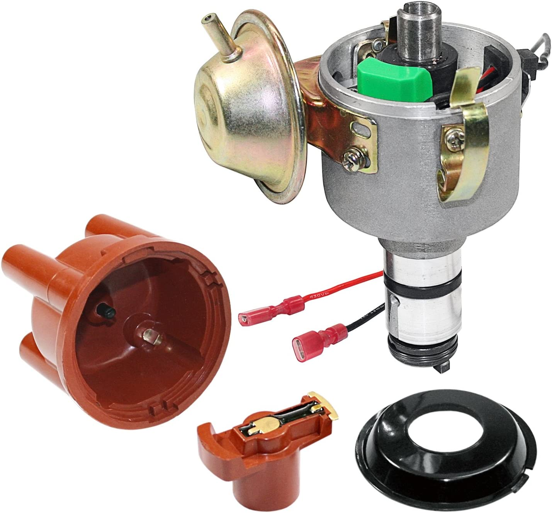 Kuhltek Motorwerks 0231170034 Vacuum Advance Distributor for VW Beetle Kühltek Motorwerks