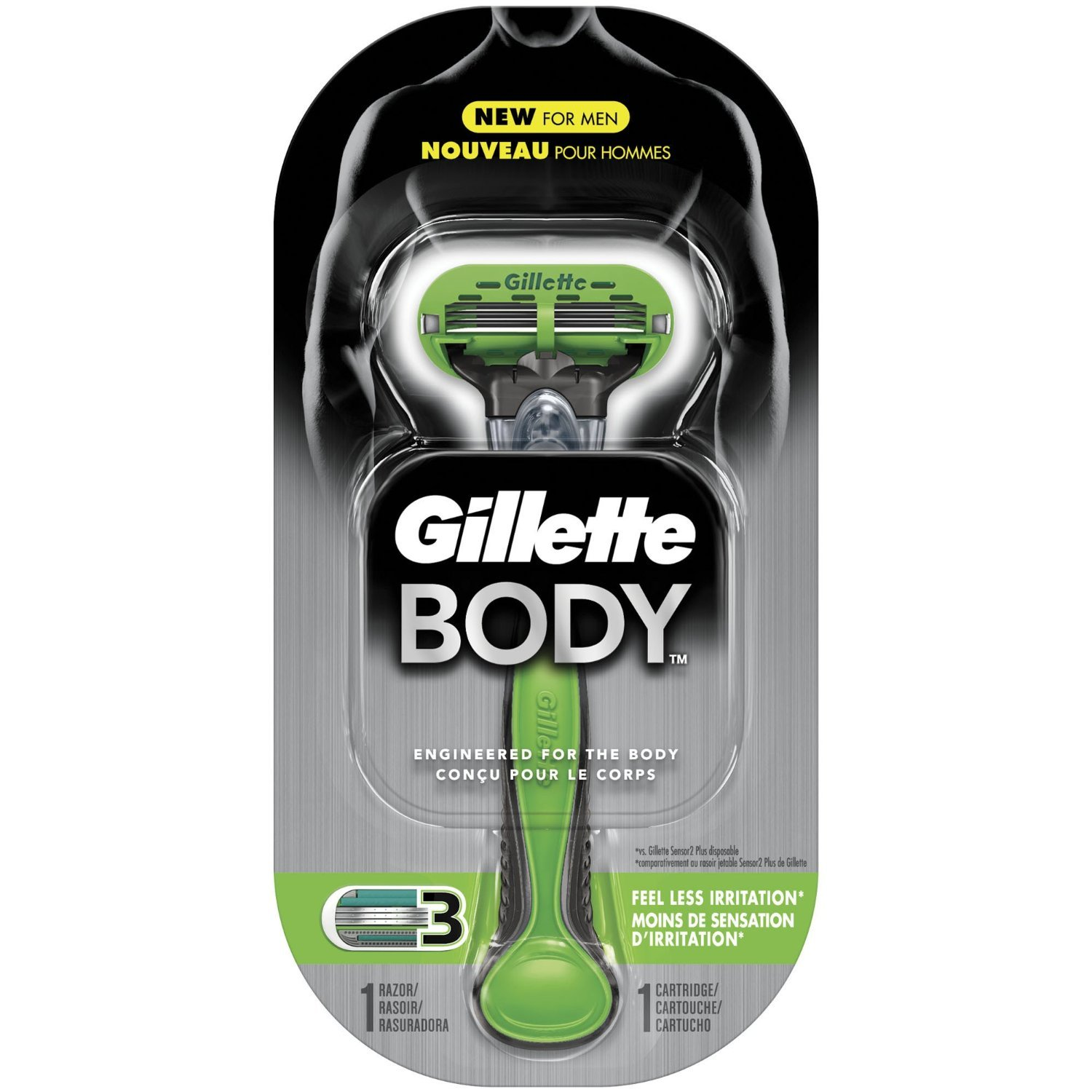 Gillette Body Razor 2 Pack