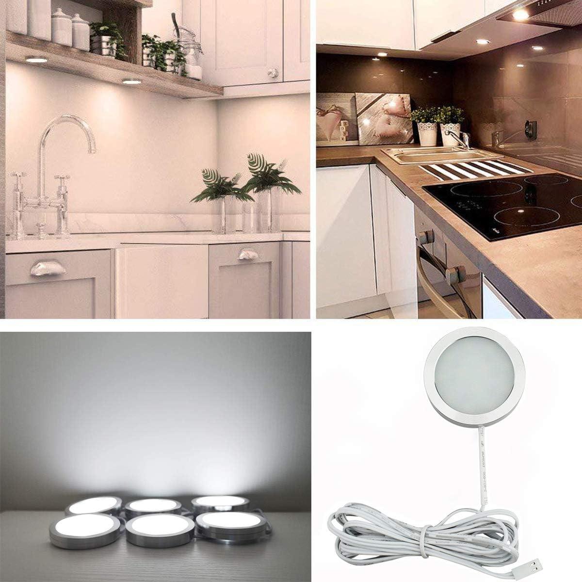 Under Cabinet Lights Kit LED Kitchen Counter Closet ...