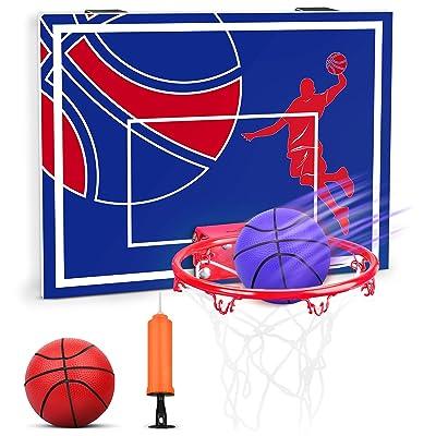 Buy Yimore Over The Door Basketball Hoop Mini Basketball Hoop For Door Wall Mounted Bedroom Office Indoor Games For Adults Kids Basketball Toys Gifts Online In Italy B093k5jkfp
