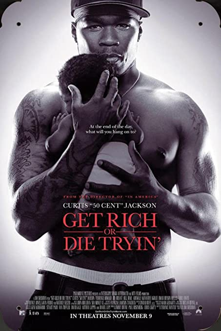 Get Rich Or Die Tryin Ver2 pelicula metal poster cartel ...
