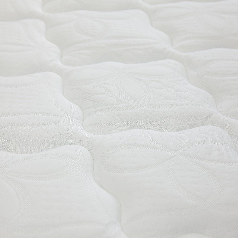 2 Schichten: Kaltschaum Visco Smart Schaum H/öhe 25 cm 140cm x 200cm Allergiker geeignet Arensberger /® Flexx 9 Zonen Matratze mit 3D-Memory Foam