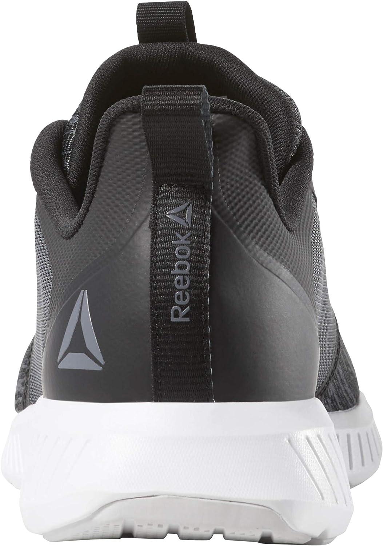 Reebok Fusium Lite, Chaussures de Trail Homme Multicolore Black Cold Grey6r White Porcelain 000