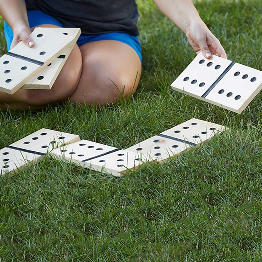 Belknap Hill Trading Post Giant Dominoes Backyard Game by Belknap Hill Trading Post (Image #6)
