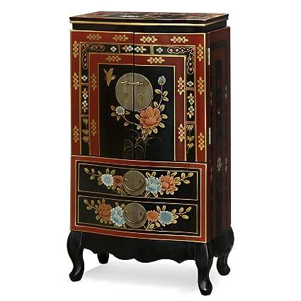 Amazoncom China Furniture Online Tibetan Jewelry Armoire Hand