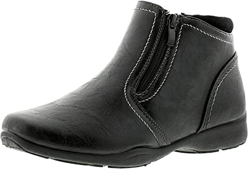 soft leather ankle boots uk 7 black