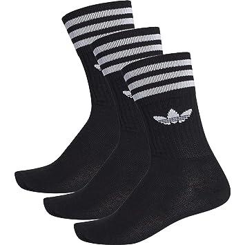 Adidas Solid Crew Socken 3er Pack 39-42 EU