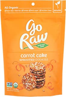 product image for Go Raw Organic Carrot Cake Sprouted Cookie, 3 Ounce - 12 per case.