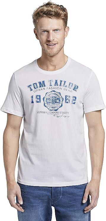 TALLA 50-52. Tom Tailor Camiseta para Hombre