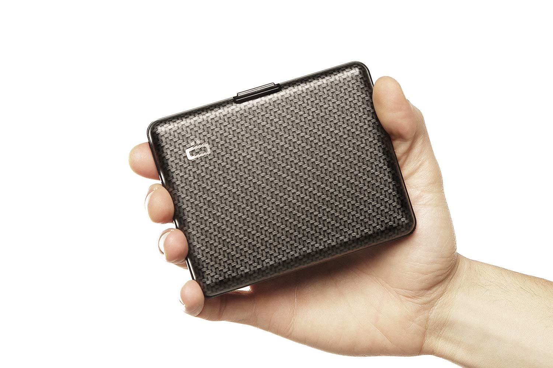 /Ögon Smart Wallets BS-Silver Portefeuille Big Stockholm wallet Aluminium anodis/é Gris argent
