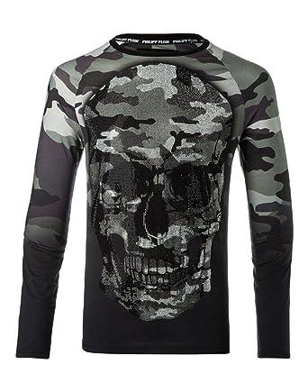 be5cf3b99ca4e Philipp Plein - Sweat-Shirt - Manches Longues - Homme Noir Noir - Noir -