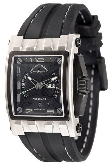 Zeno-Watch Reloj Mujer - Mistery Rectangular Automática - 4239-i1